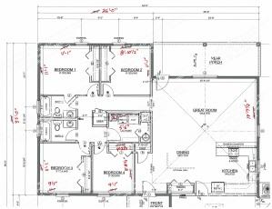 Architectural Designer Redline Markups